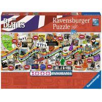 Ravensburger The Beatles Počas rokov 1000 dielikov