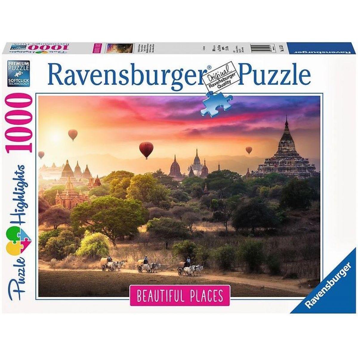 Ravensburger 151530 Mjanmarsko 1000 dielikov