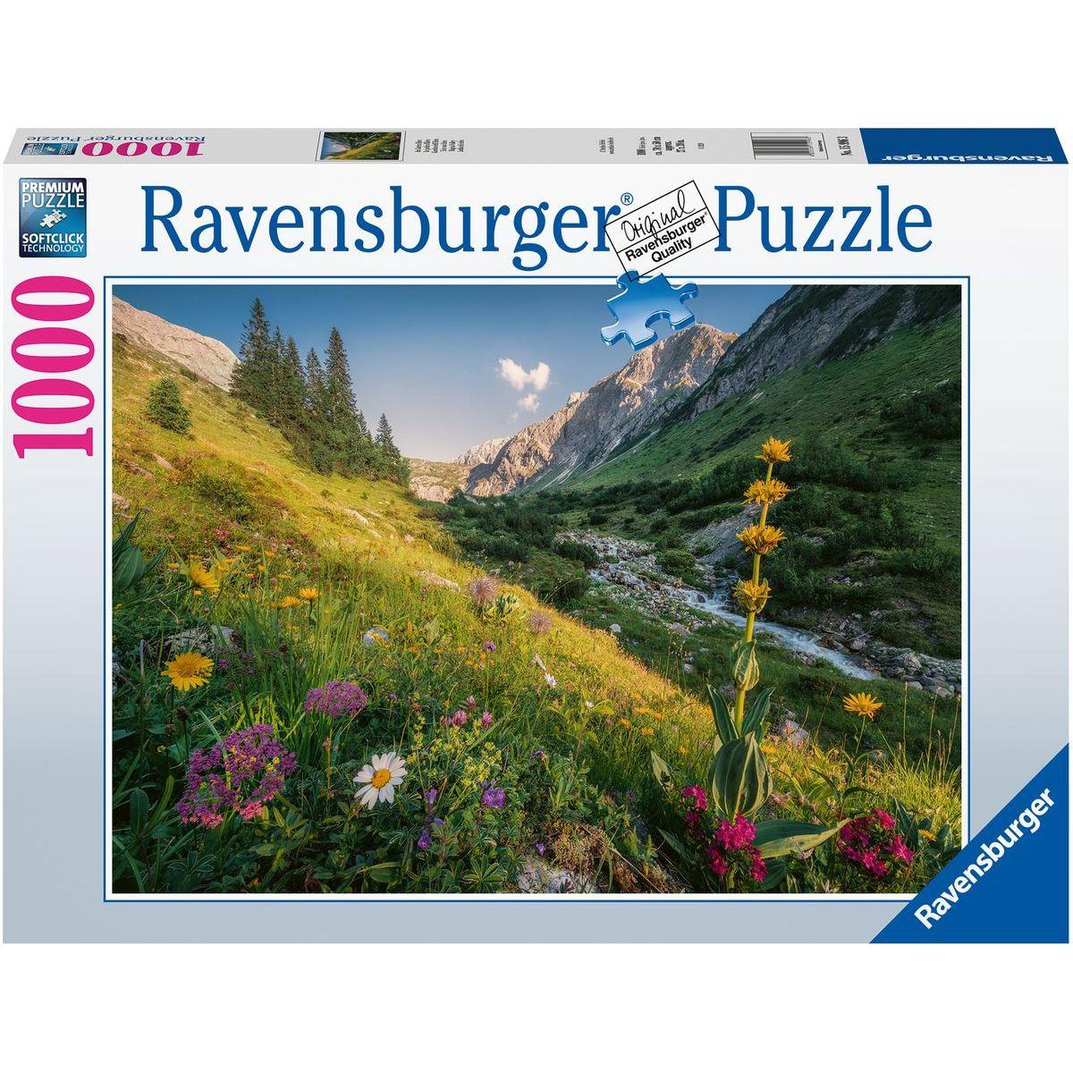 Ravensburger puzzle 159963 V rajskej záhrade 1000 dielikov