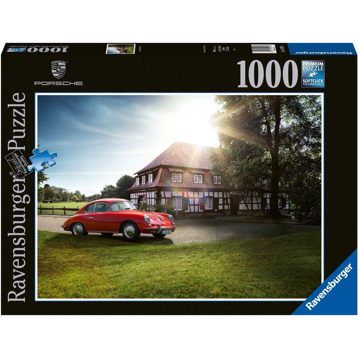 Ravensburger puzzle 159970 Porsche klasické 911R 1000 dielikov