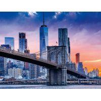 Ravensburger puzzle 160112 New York s mrakodrapmi 2000 dielikov