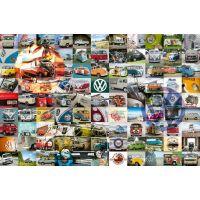 Ravensburger puzzle 160181 99 VW Bulli momentov 3000 dielikov 2