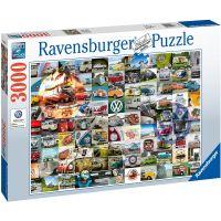 Ravensburger puzzle 160181 99 VW Bulli momentov 3000 dielikov 3