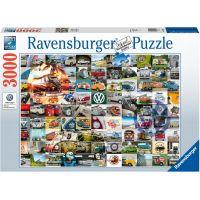 Ravensburger puzzle 160181 99 VW Bulli momentů 3000 dílků