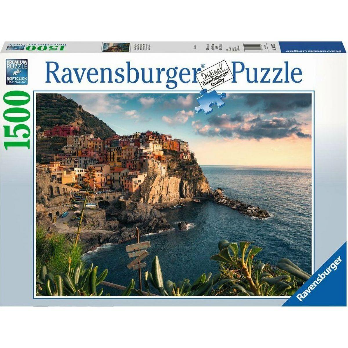 Ravensburger puzzle 162277 Pohľad na Cinque Terre 1500 dielikov