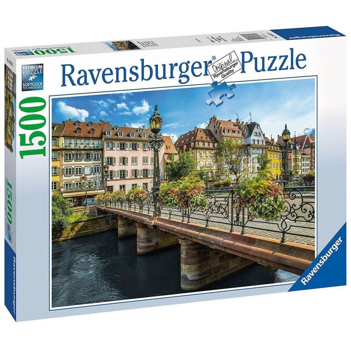 Ravensburger 163571 Letní Strasbourg 1500 dílků