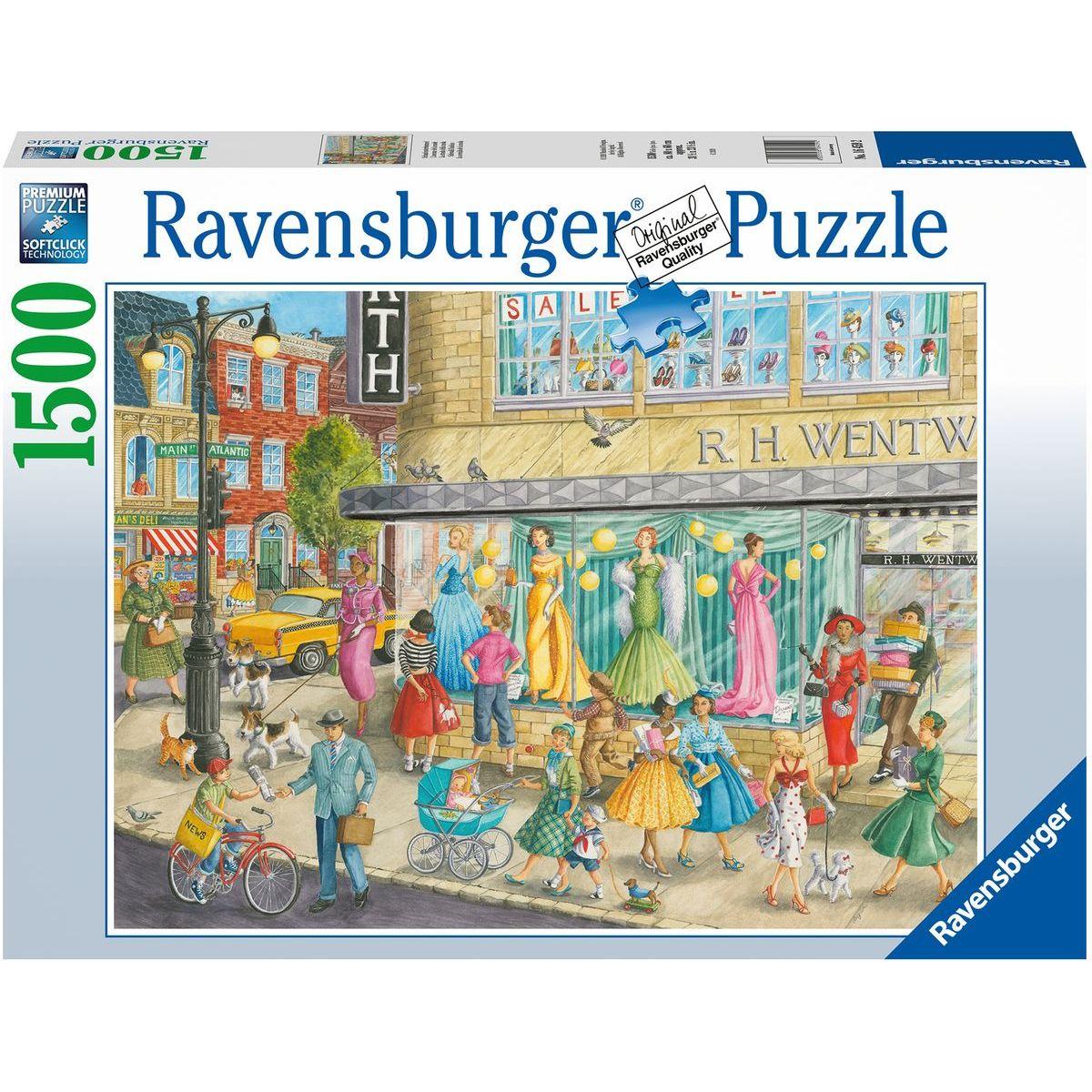 Ravensburger puzzle 164592 Nákupný trieda 1500 dielikov