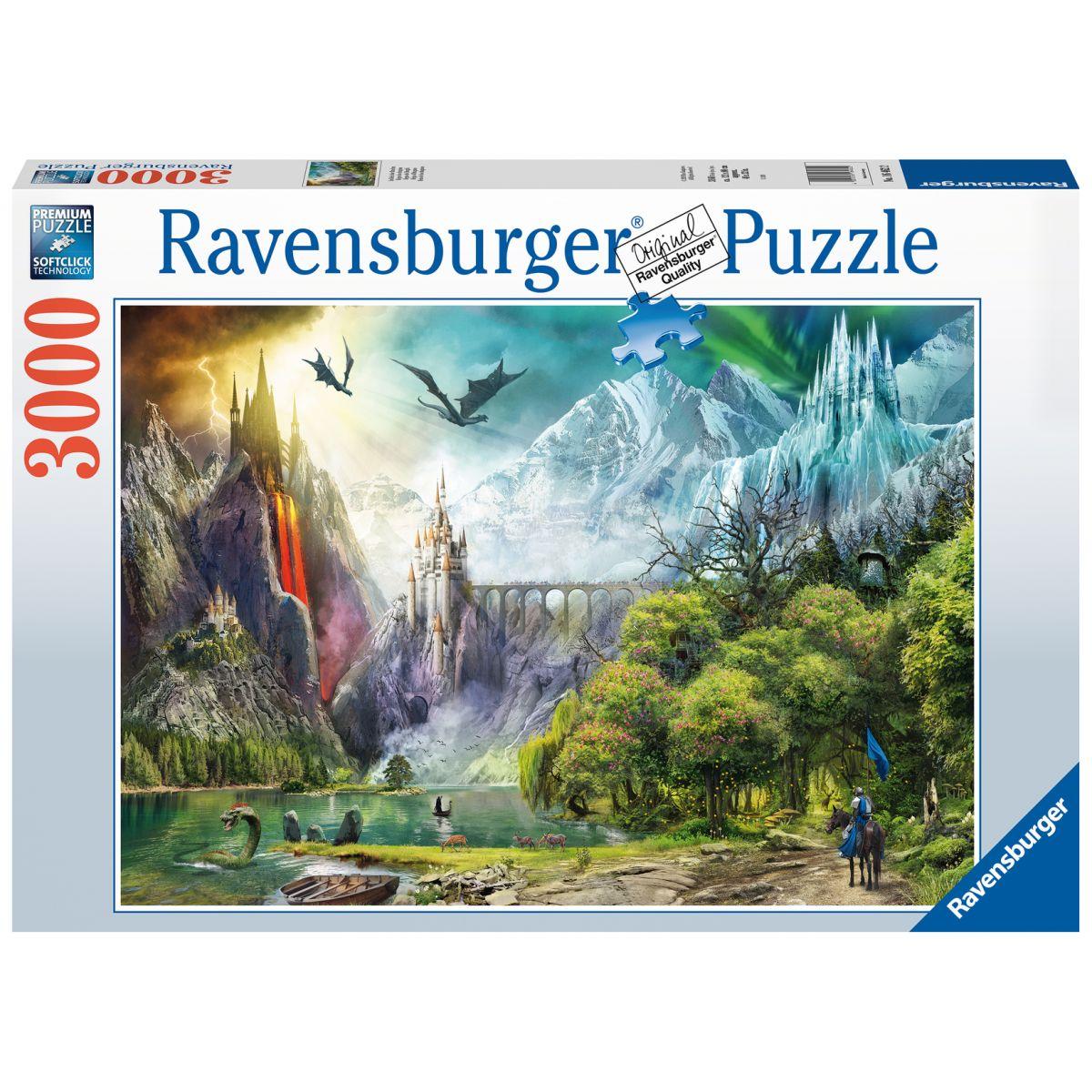 Ravensburger puzzle 164622 Vláda drakov 3000 dielikov