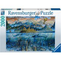 Ravensburger puzzle 164646 Múdra veľryba 2000 dielikov