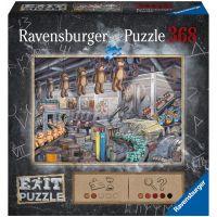 Ravensburger puzzle 164844 Exit Puzzle: V továrni na hračky 368 dielikov