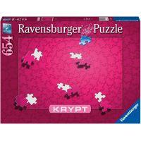 Ravensburger puzzle 165643 krypta - Pink 654 dielikov