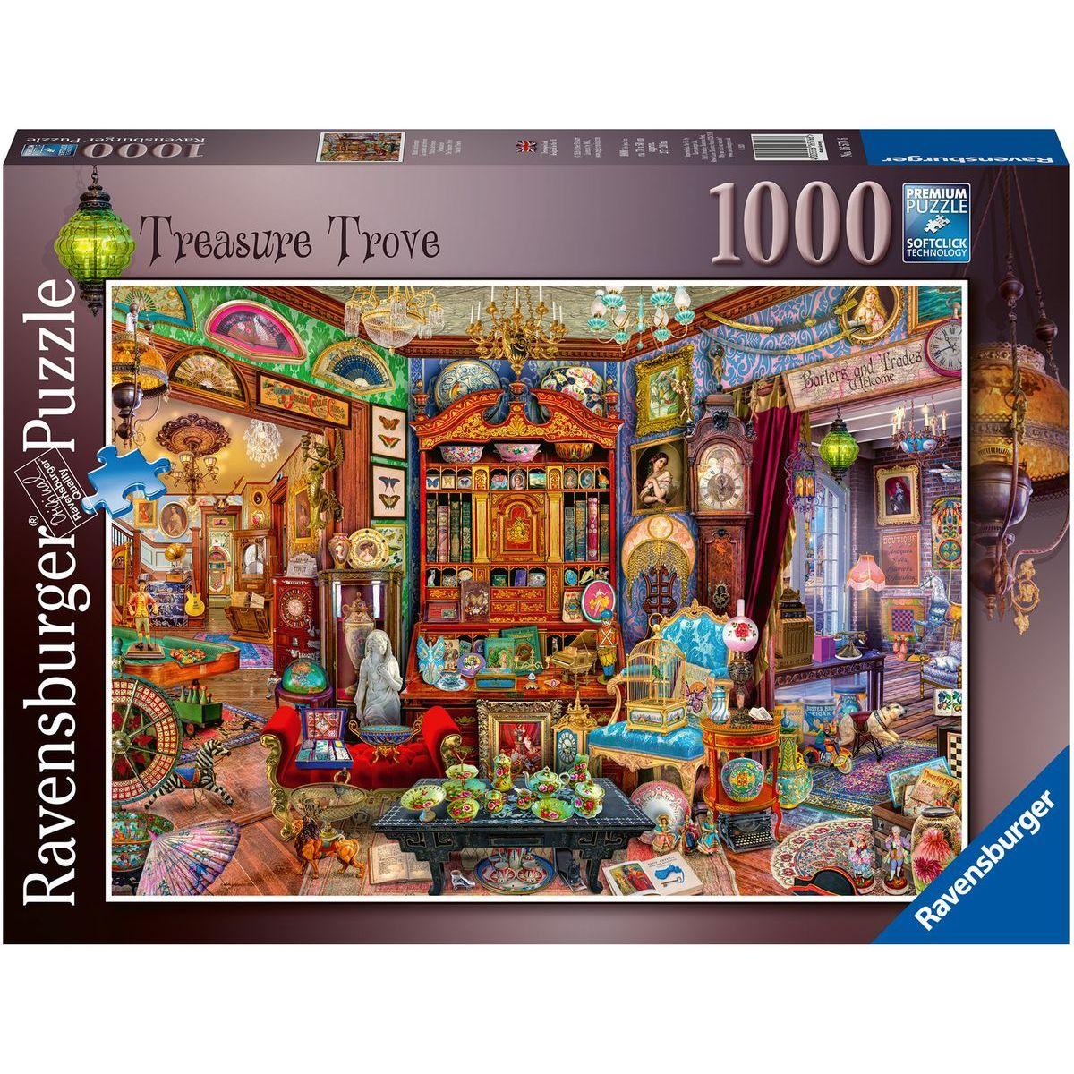 Ravensburger puzzle 165766 Pokladnica 1000 dielikov
