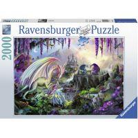 Ravensburger puzzle 167074 Dragon Valley 2000 dílků