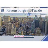 Ravensburger puzzle 167081 Pohled na New York 2000 dílků