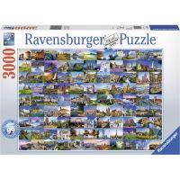 Ravensburger puzzle 170807 99 krásná místa 3000 dílků