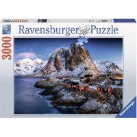 Ravensburger puzzle 170814 Norwegen 3000 dílků