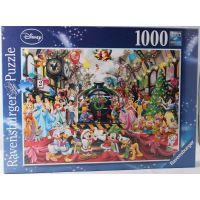 Ravensburger 195534 Disney Všichni na palubě na Vánoce 1000 dílků