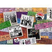 Ravensburger 197514 The Beatles Lístky; 1000 dílků