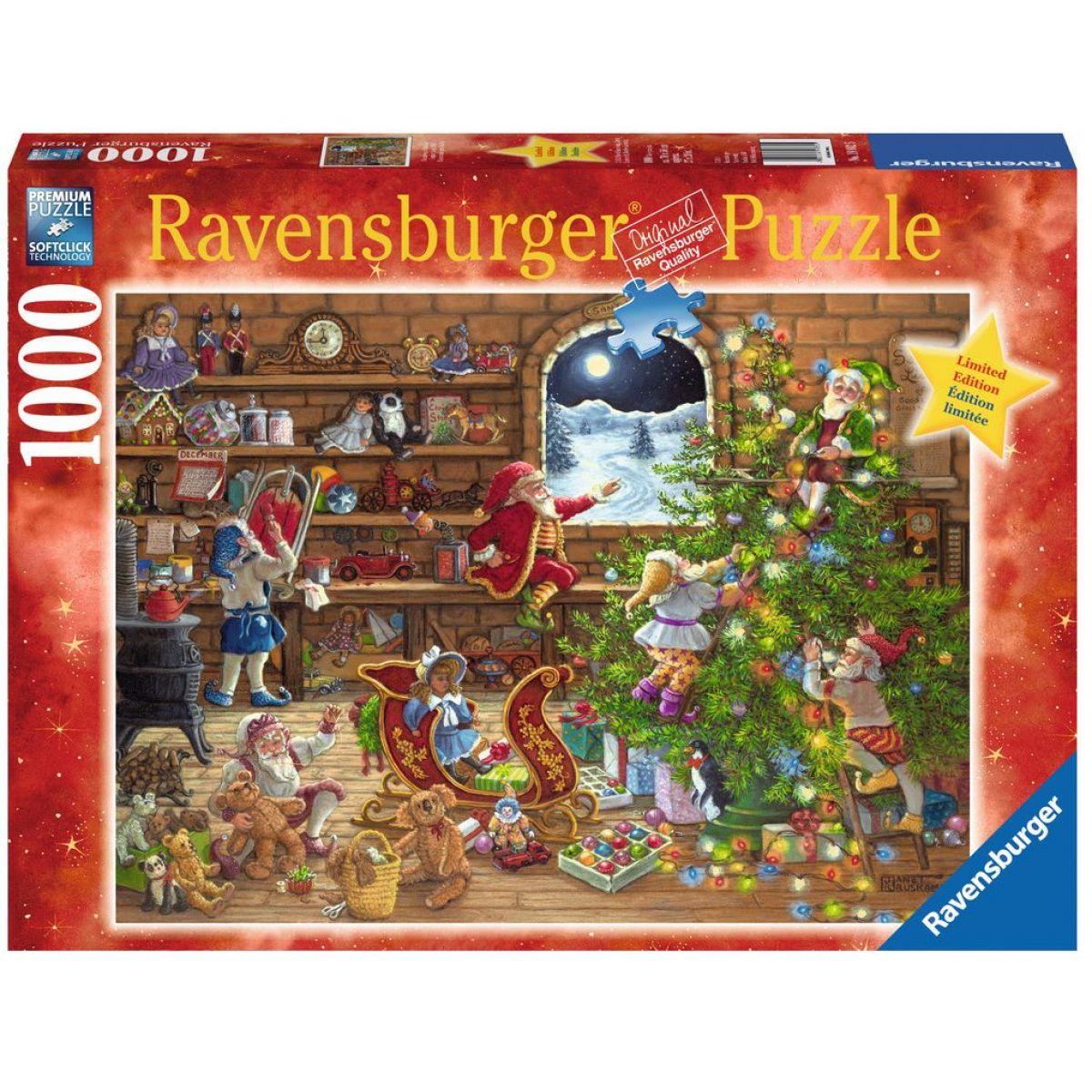 Ravensburger 198825 Odpočítávání Vánoc 1000 dílků