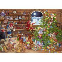 Ravensburger 198825 Odpočítávání Vánoc 1000 dílků 2