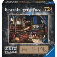 Ravensburger puzzle 199501 Exit Puzzle Hvezdáreň 759 dielikov