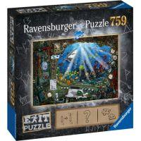 Ravensburger puzzle 199532 Exit Puzzle Ponorka 759 dielikov