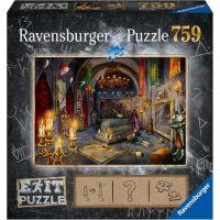 Ravensburger puzzle 199556 Exit Puzzle Upírov hrad 759 dielikov