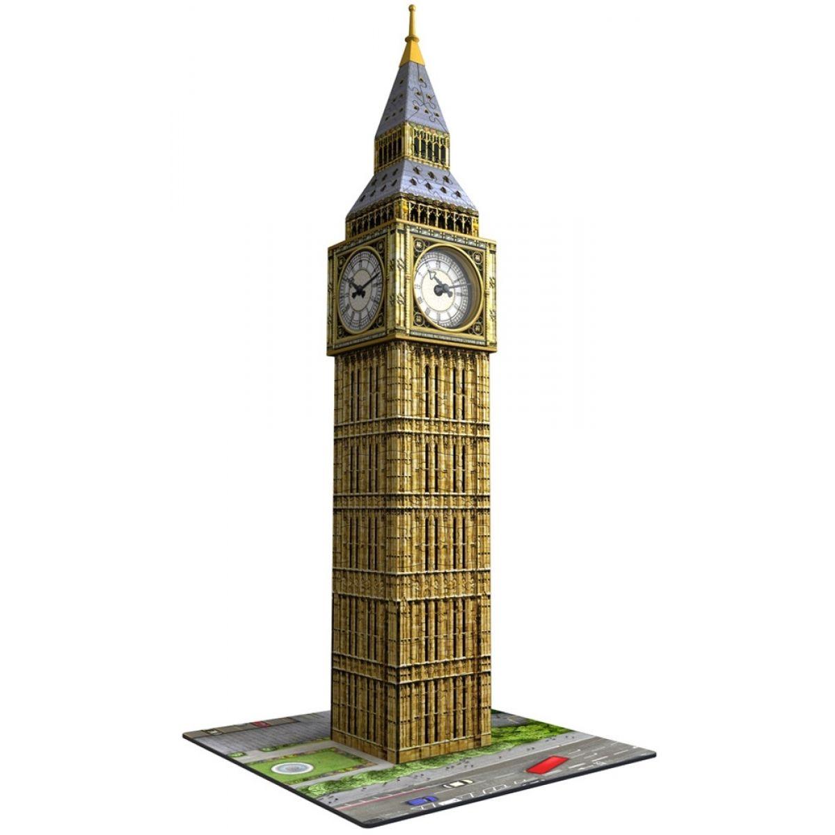 Ravensburger 3D puzzle Big Ben s hodinami 216 dielikov