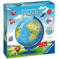Ravensburger Puzzle 3D Globus puzzleball 180 dielikov anglický