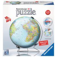 Ravensburger Puzzle 3D Globus puzzleball 540 dielikov