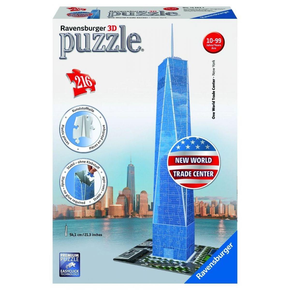 Ravensburger 3D puzzle Trade Center 216 dielikov