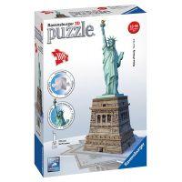 Ravensburger 3D puzzle Socha Slobody 108 dielikov