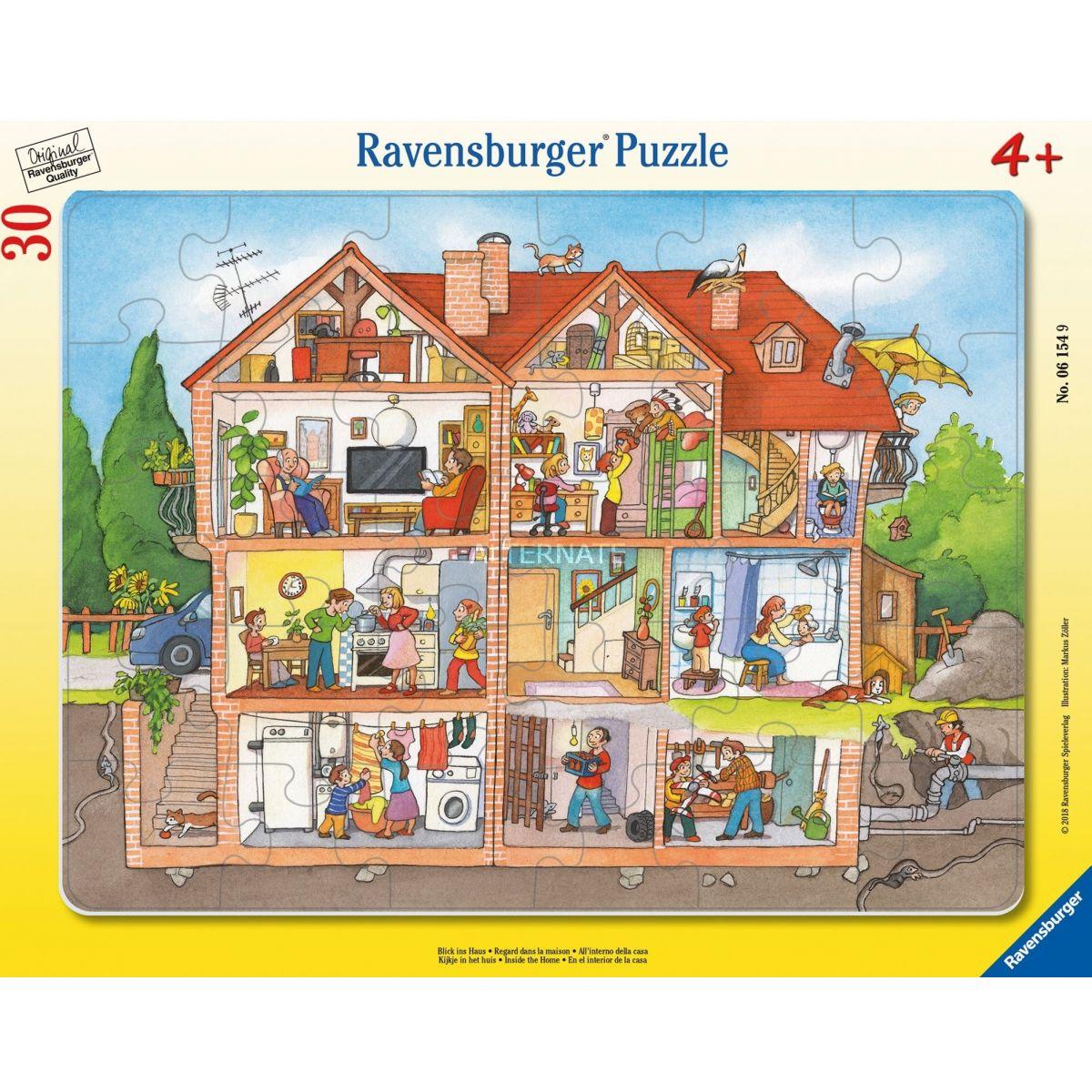 Ravensburger 61549 Interiér domu 30 dielikov