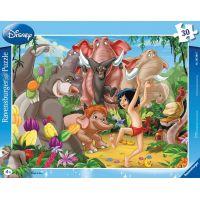Ravensburger 63987 Disney Kniha džunglí Mowgli a Balu 30 dílků