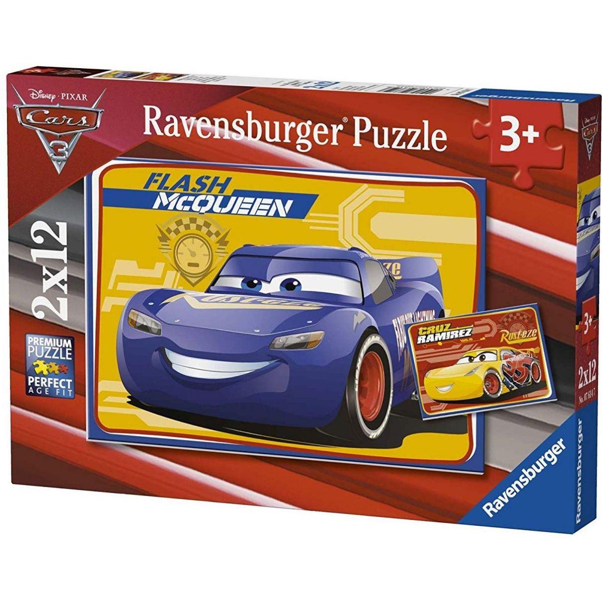 Ravensburger 76147 Disney Auta 3 2x12 dílků