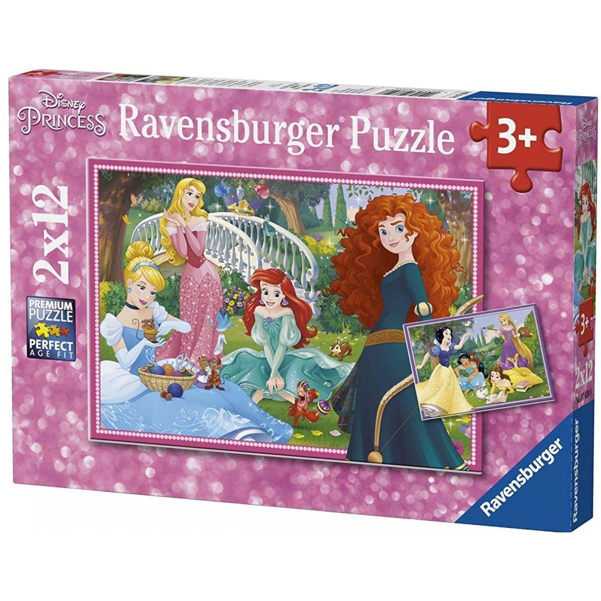 Ravensburger 76208 Disney Princezny 2x12 dílků