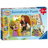 Ravensburger 80243 Disney Na Vlásku 3x49 dílků