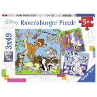 Ravensburger Disney kamaráti 3x49 dielov