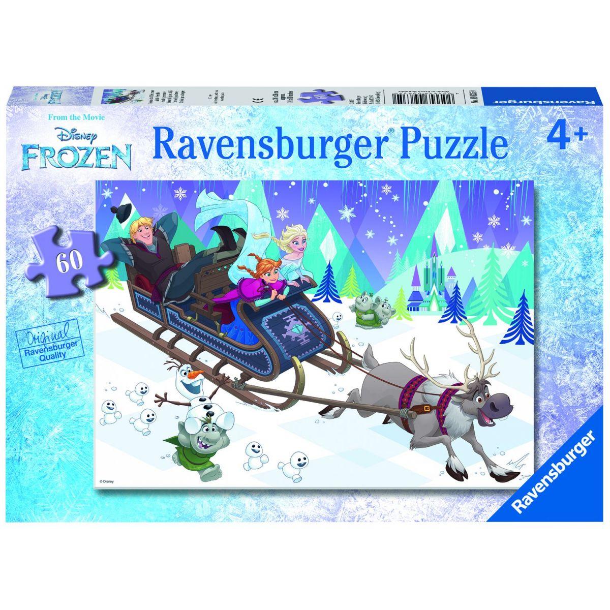 Ravensburger 96350 Disney Ledové království: Přátelství na vždy 60 dílků