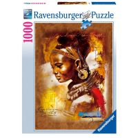 RAVENSBURGER Africká dívka 1000 dílků