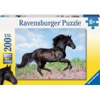 Ravensburger Puzzle Čierny žrebec 200 dílků