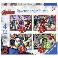 Ravensburger Disney Marvel Avengers 4x v boxe