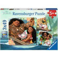 Ravensburger Puzzle Disney Vaiana 3x49 dielikov