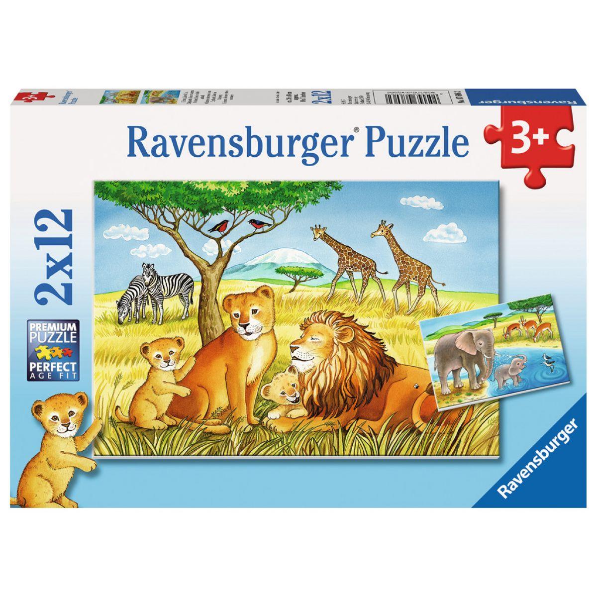 Ravensburger 2x12 ZOO