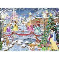 Ravensburger Glitter 107940 Disney Princezny: Vánoce 100 dílků 2
