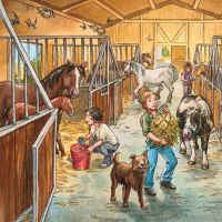 Ravensburger 3x49 Deň s koňmi 3