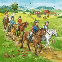 Ravensburger 3x49 Deň s koňmi 4