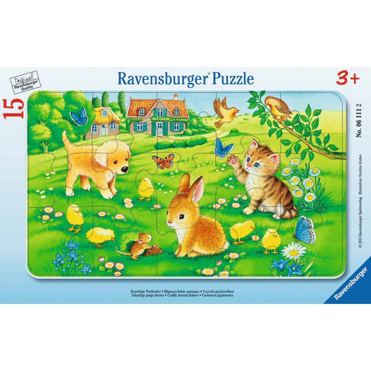 Ravensburger Miloučká mláďata 15 dílků