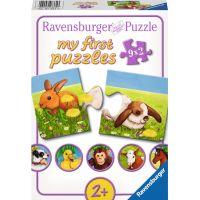 Ravensburger Miloučká zvířata 9x2 dílků
