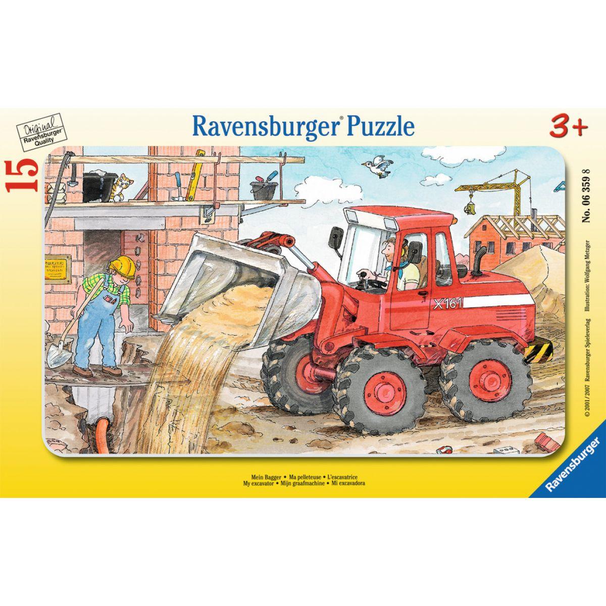 Ravensburger Môj bager 15 dielikov